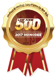 Law Firm 500 | 2017 Honoree